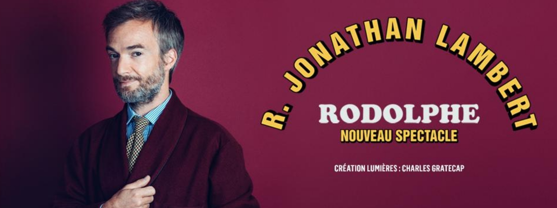 Jonathan Lambert en création à la compagnie du café théâtre de Nantes
