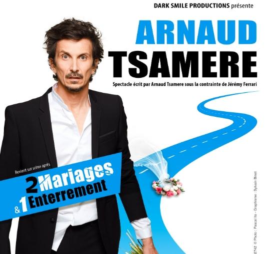 Arnaud tsamère à nantes
