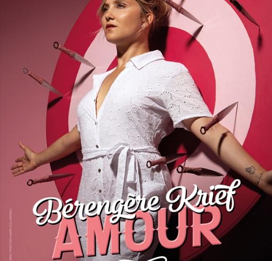 Découvrez le nouveau seul en scène de la comédienne Bérengère Krief à l'affiche du Palais des Congrès Atlantia à La Baule.