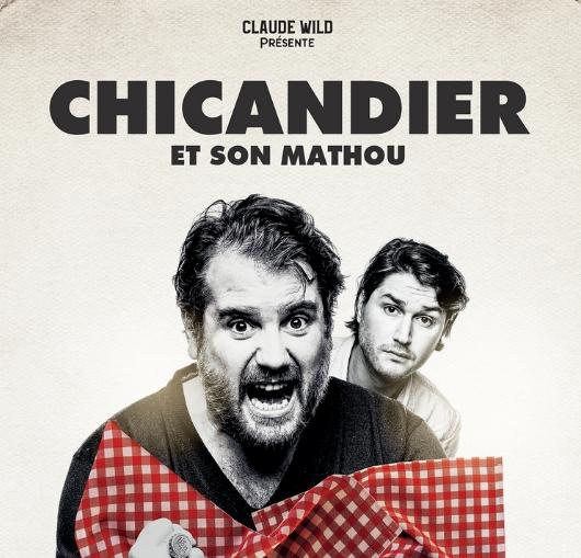 Chicandier produit par Claude Wild à Nantes en janvier 2021 avec La compagnie du café théâtre
