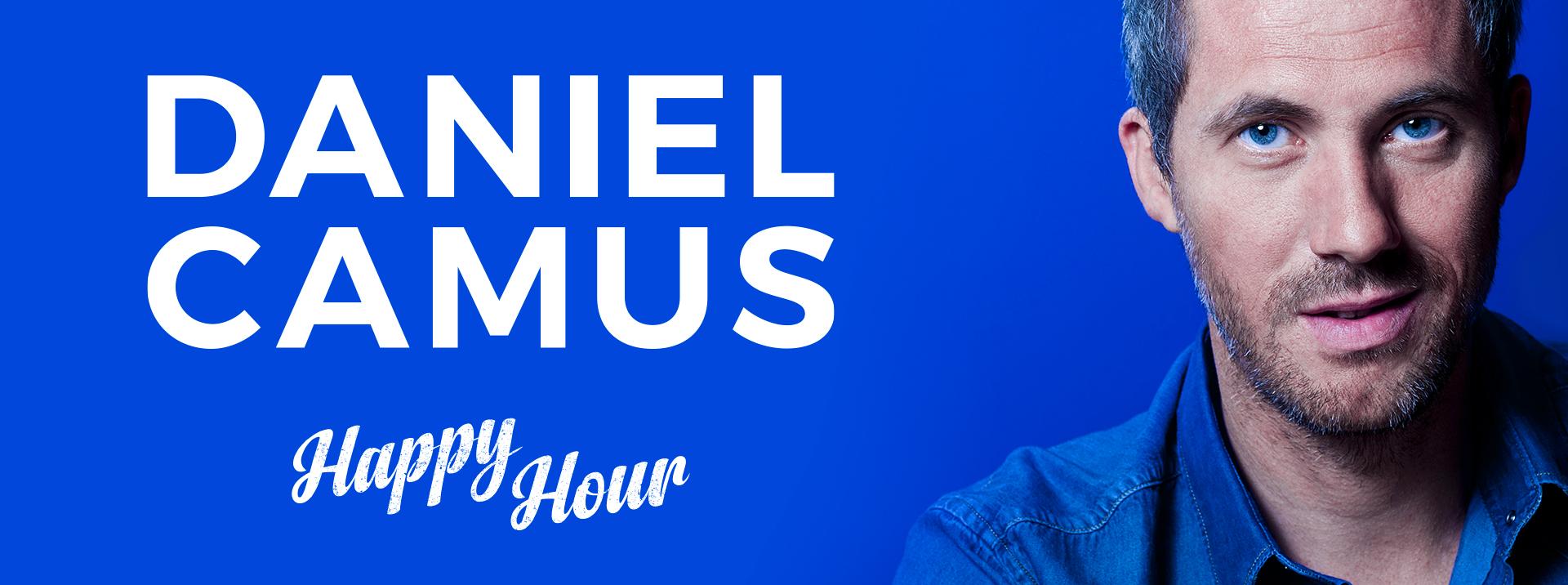 Au théâtre ce soir à Nantes Daniel Camus spectacle d'humour one man show