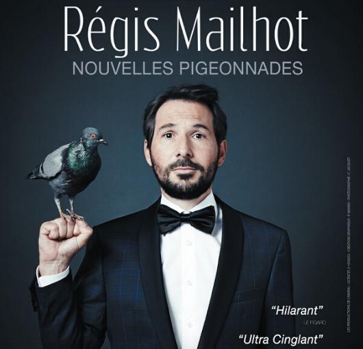 Régis Mailhot à la compagnie du café théâtre de Nantes