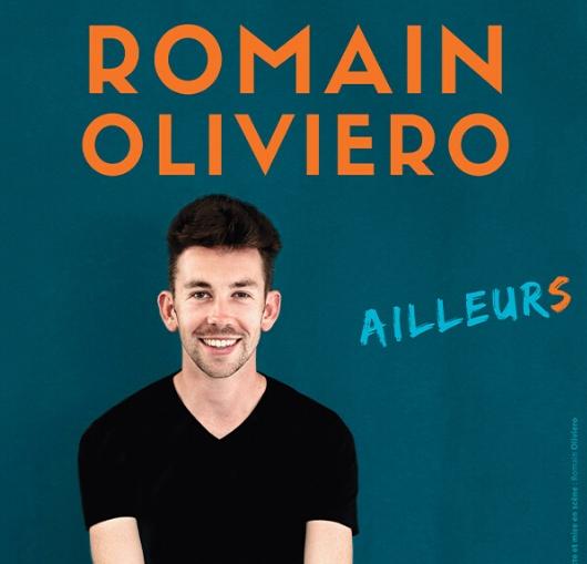 Romain Oliviero élève de la compagnie du café théâtre