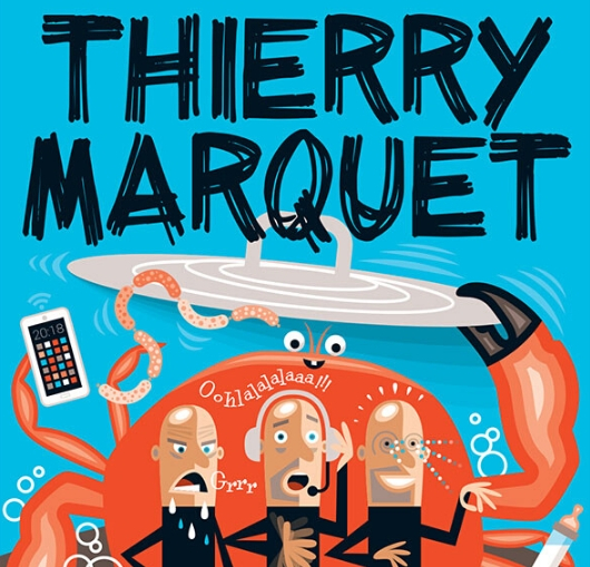 Thierry Marquet au théâtre nantais avec un spectacle d'humour noir décapant