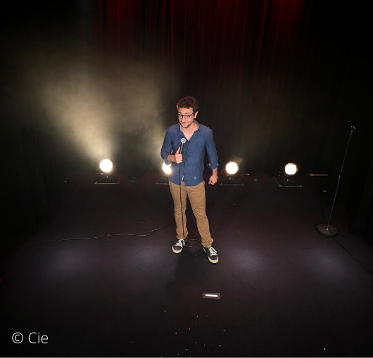 Stand up admirable de Sébastian Marx à la compagnie du café théâtre