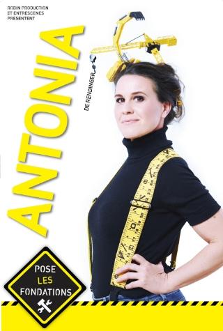 Antonia de Rendinger en spectacle à Nantes chez Mathilde Moreau. Création du nouveau spectacle de l'humoriste française.