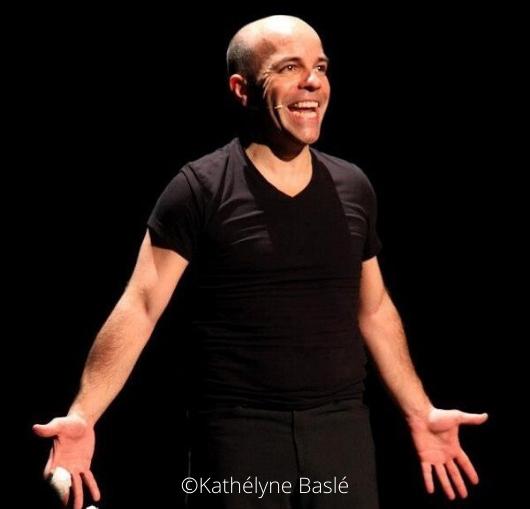 Arnaud Maillard en spectacle à Nantes à la compagnie du café théâtre