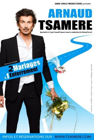 Billetterie spectacle Nantes Arnaud tsamère