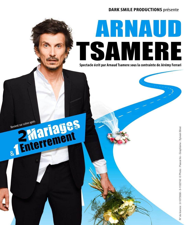 Arnaud Tsamère à Nantes création du nouveau spectacle