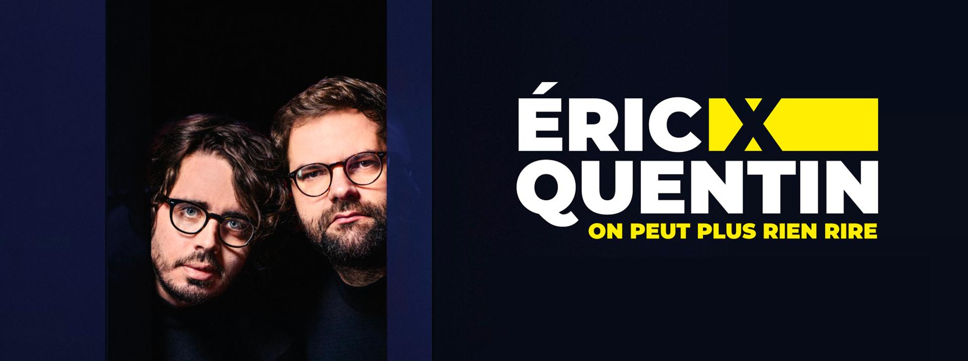 Idée de sortie à Nantes le nouveau spectacle de Eric et Quentin à l'affiche de la compagnie du café théâtre