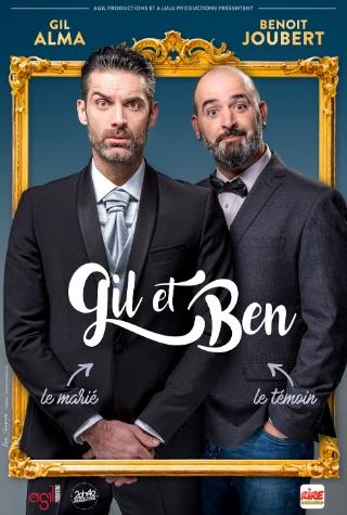 Gil Alma et Benoit Joubert au théâtre à Nantes
