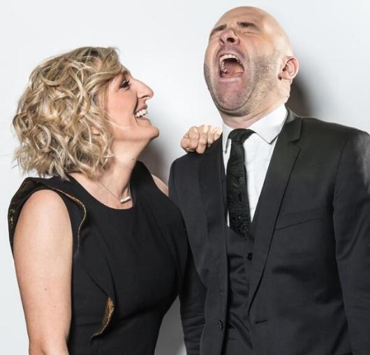 Culture spectacle à Nantes, découvrez le duo comique Giroud et Stotz à la compagnie du café théâtre.