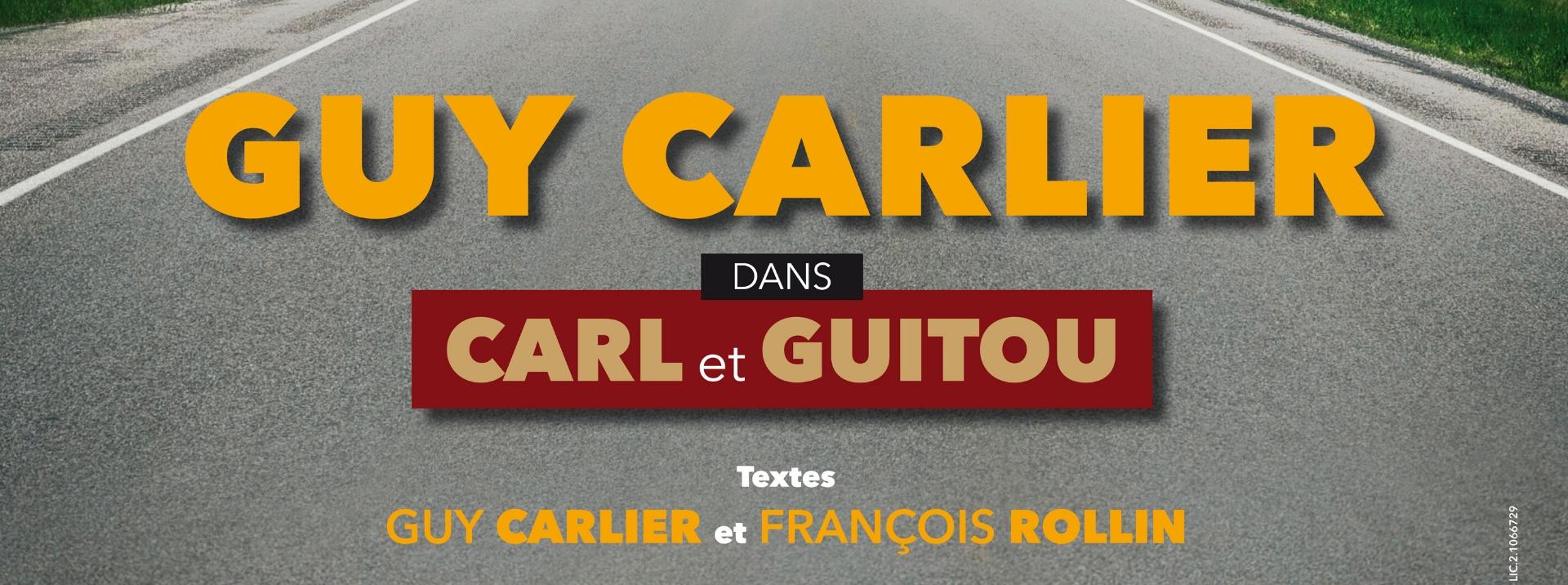 Guy Carlier au théâtre à Nantes.
