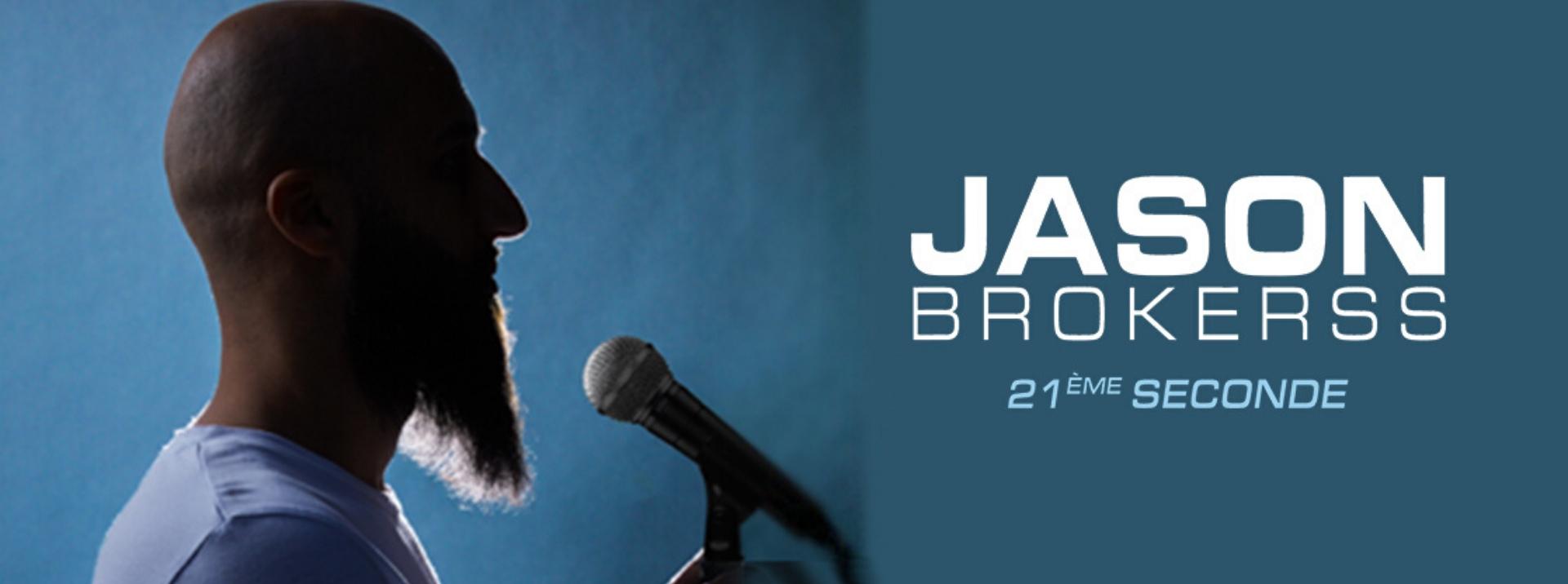 le stand uper Jason Brokers à la compagnie du café théâtre