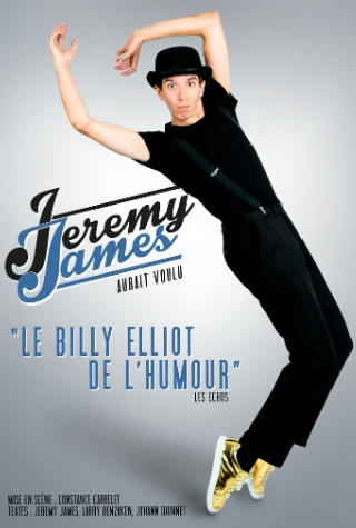 Jérémy James à Nantes en spectacle