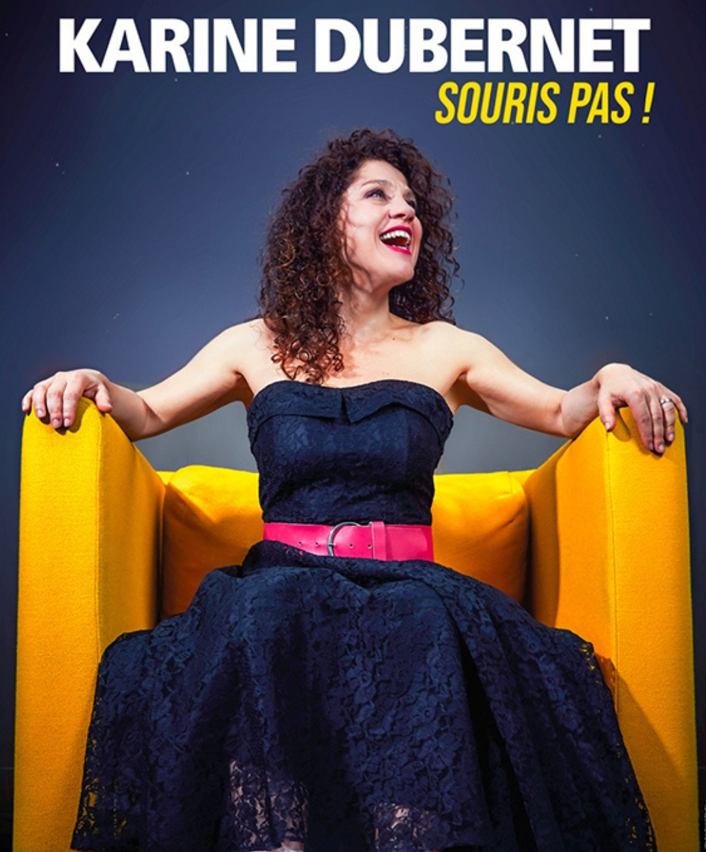 Karine Dubernet en spectacle à La Compagnie du café théâtre à Nantes