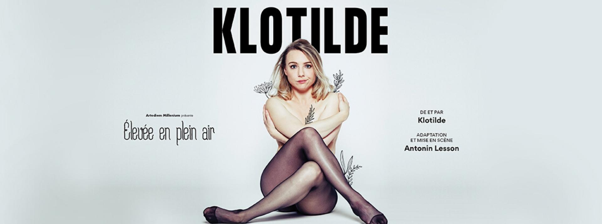 Klotilde en spectacle à la compagnie du café théâtre