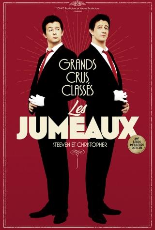 Les Jumeaux Steeven et Christopher en spectacle à la compagnie du café théâtre de Nantes