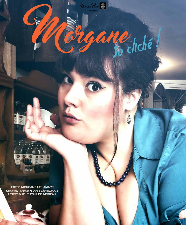 Morgane Delamare en spectacle à Nantes à la compagnie du café théâtre
