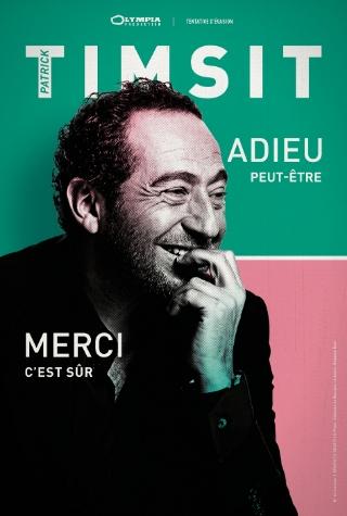 Patrick Timsit dans l'agenda culturel de Nantes à La Compagnie du café théâtre