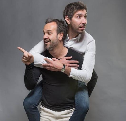 La Comédie à Nantes avec Vincent piguet et Patrick Chanfray
