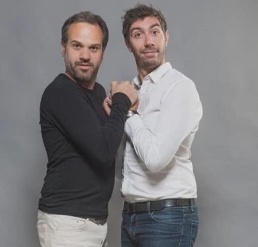 Vincent Piguey et Patrick Chanfray sur scène dans une comédie irrésistible à Nantes