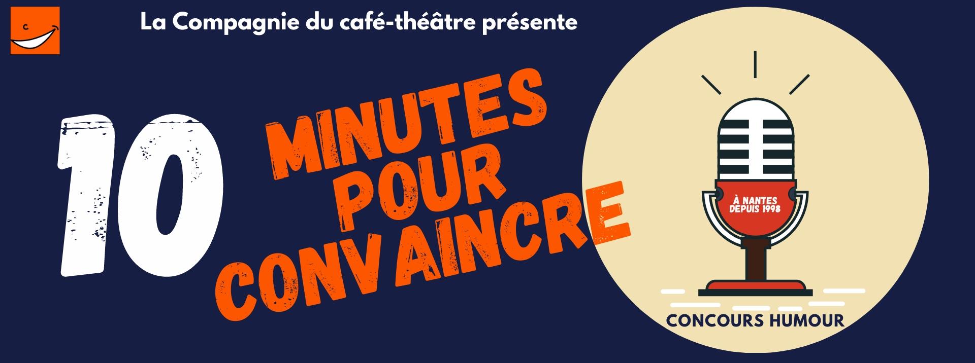 Concours d'humour à Nantes, scène ouverte à La Compagnie du café théâtre