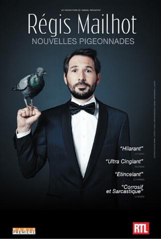 Régis Mailhot en spectacle à Nantes