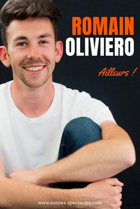 Romain Oliviero en spectacle à nantes à La Compagnie du café théâtre
