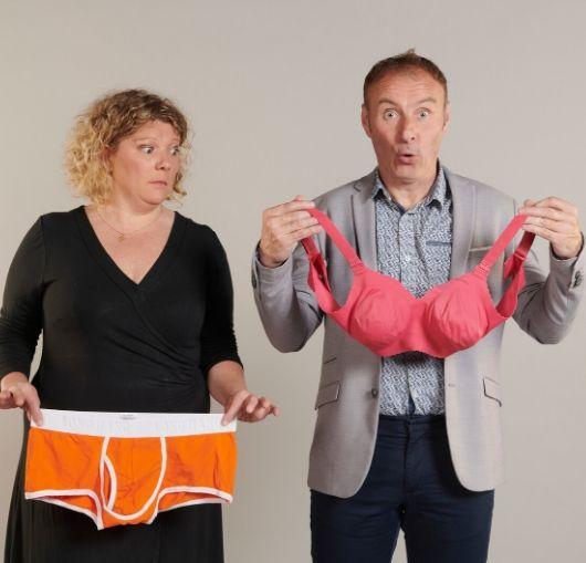 Pièce de théâtre sous forme de duo humoristique, découvrez d'un sexe à l'autre avec Michael Louchart et Emilie Deletrez