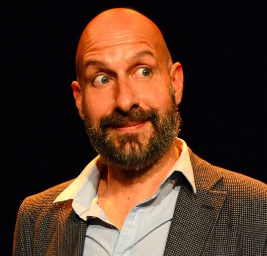 Au théâtre de Nantes Thierry Marquet l'humoriste français