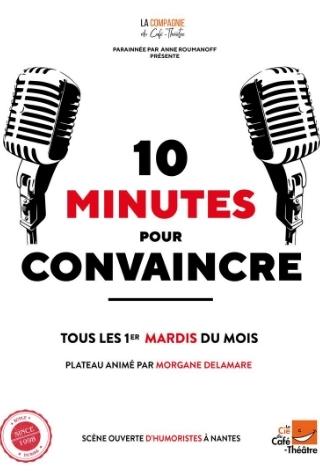 Demi finale du concours d'humour à Nantes