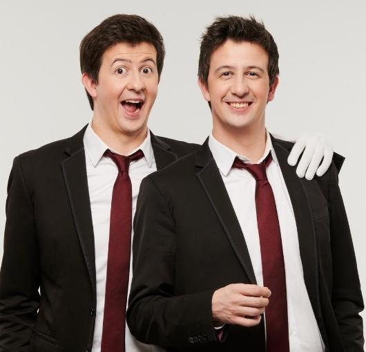Découvrez dans l'agenda des sorties à nantes le spectacle de jumeaux steeven et christopher !