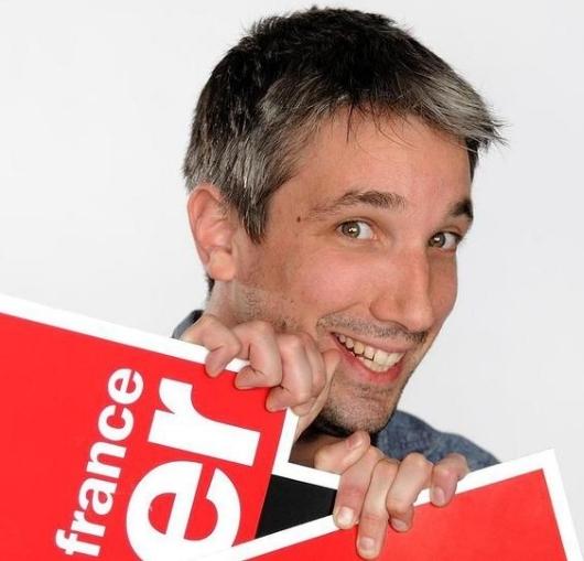 Guillaume Meurice le célèbre chroniqueur sur France Inter en spectacle à Nantes.