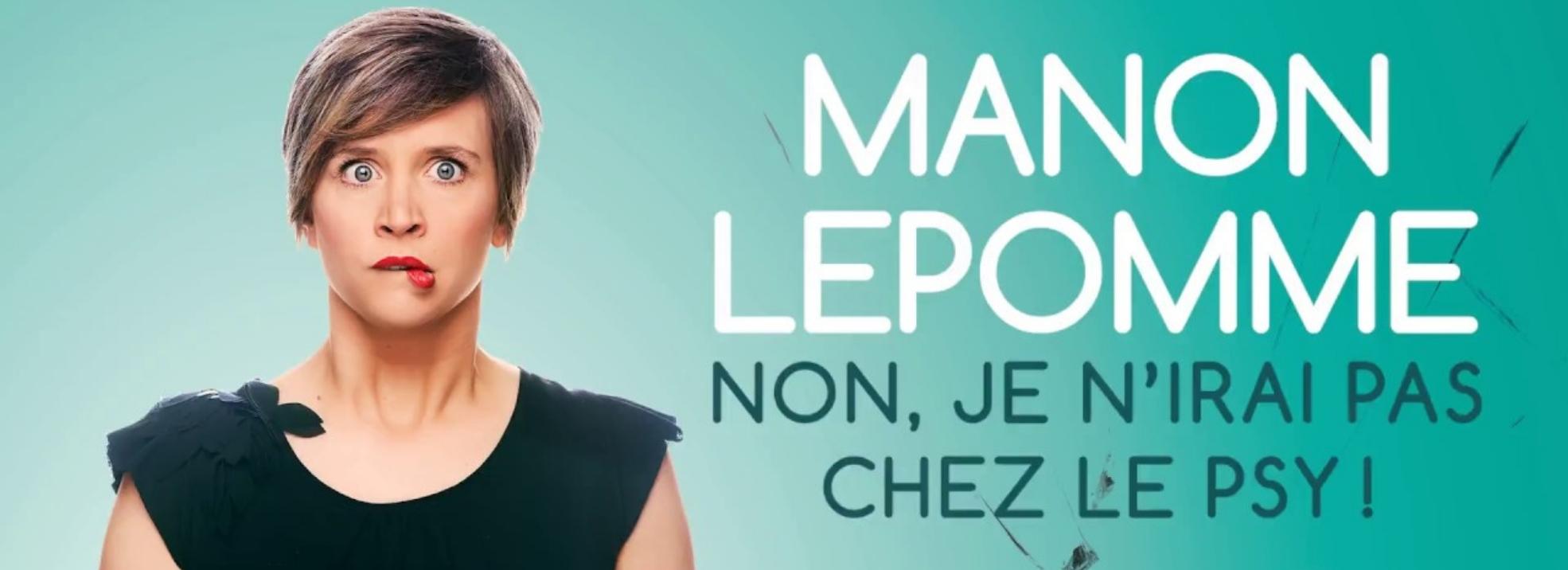Manon Lepomme dans la programmation de la Compagnie du café théâtre à Nantes
