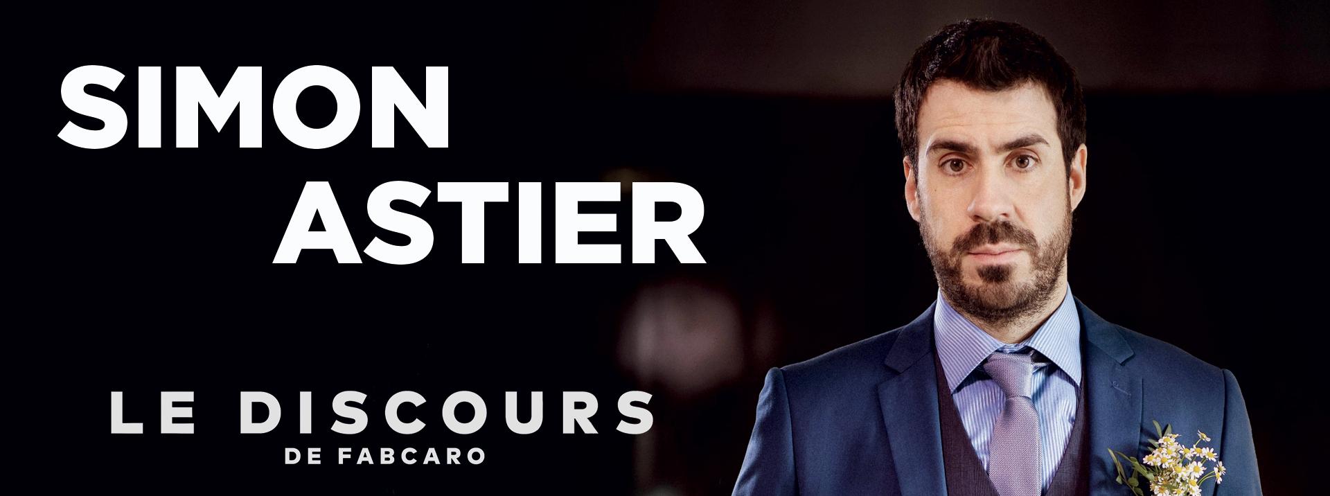 Simon Astier en spectacle à Nantes avec le discours de fabcaro