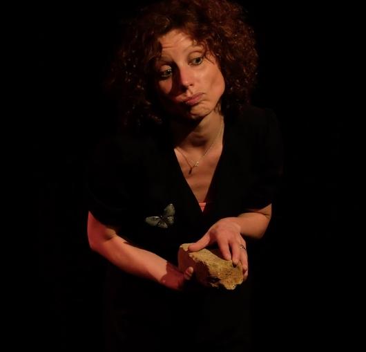 Stéphanie Jarroux en spectacle à la Compagnie