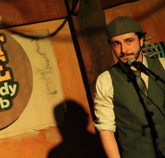 William Pilet le nantais sur scène en spectacle à Nantes à la compagnie du café théâtre