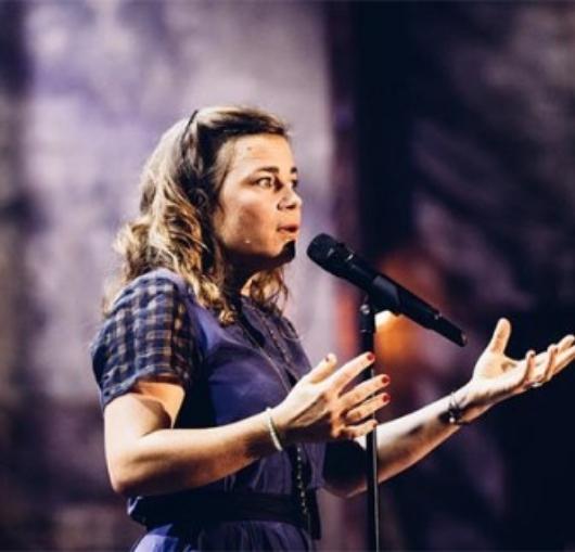 Création du nouveau spectacle de Blanche Gardin à La Compagnie du café théâtre