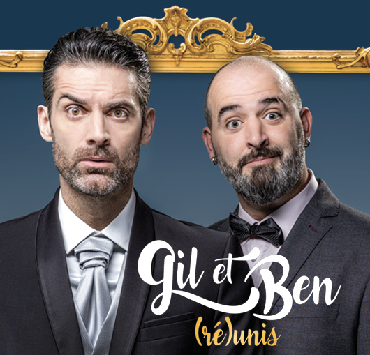 Gil Alma et Benoit Joubert spectacle humour