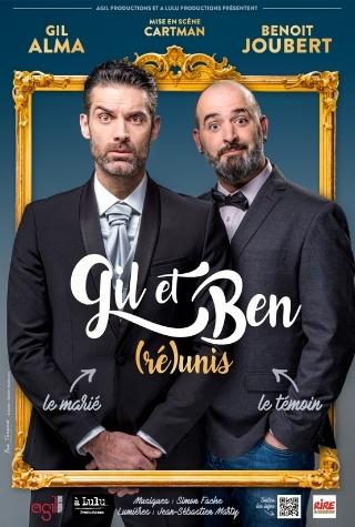 Gil Alma et Benoit Joubert en spectacle à La Compagnie du Café-Théâtre