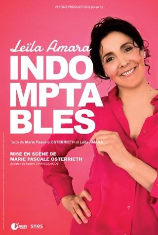 Leïla Amara en spectacle à la compagnie du café théâtre