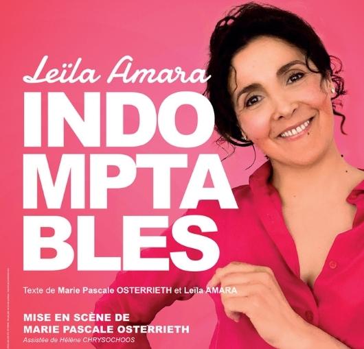 Leila Amara en spectacle à la compagnie du café théâtre