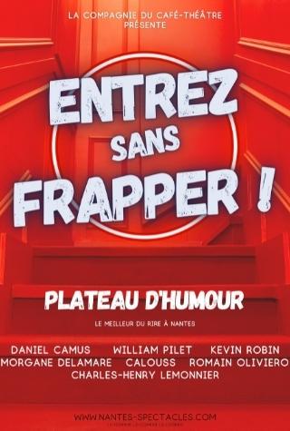 plateau humour à Nantes, découvrez les humoristes nantais sur scène